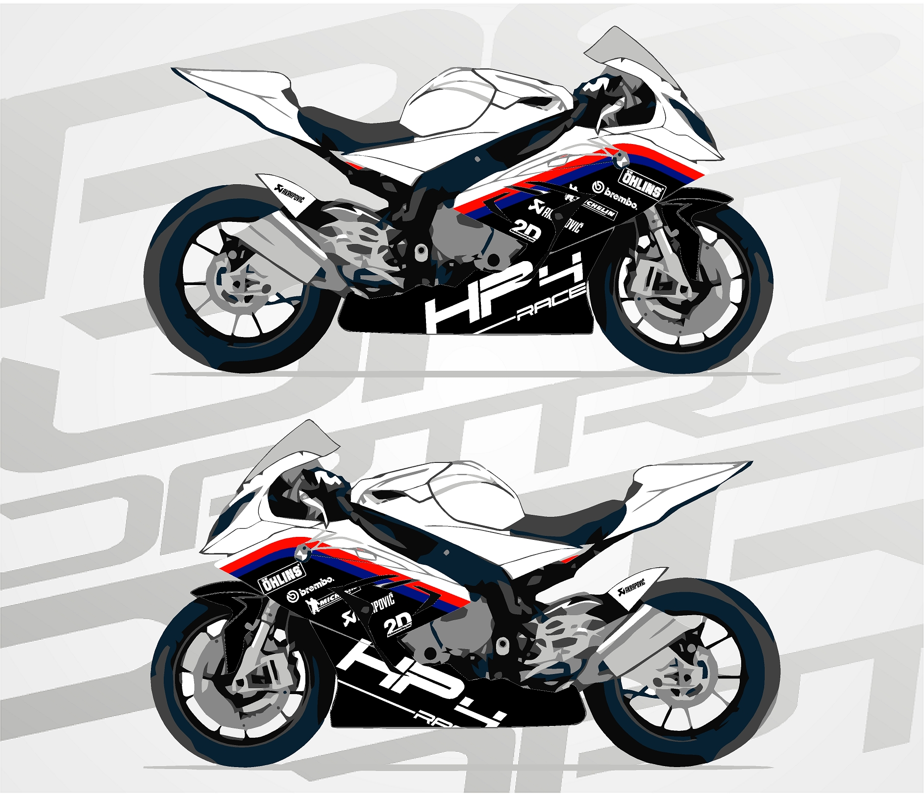 BMW S1000RR Circuit
