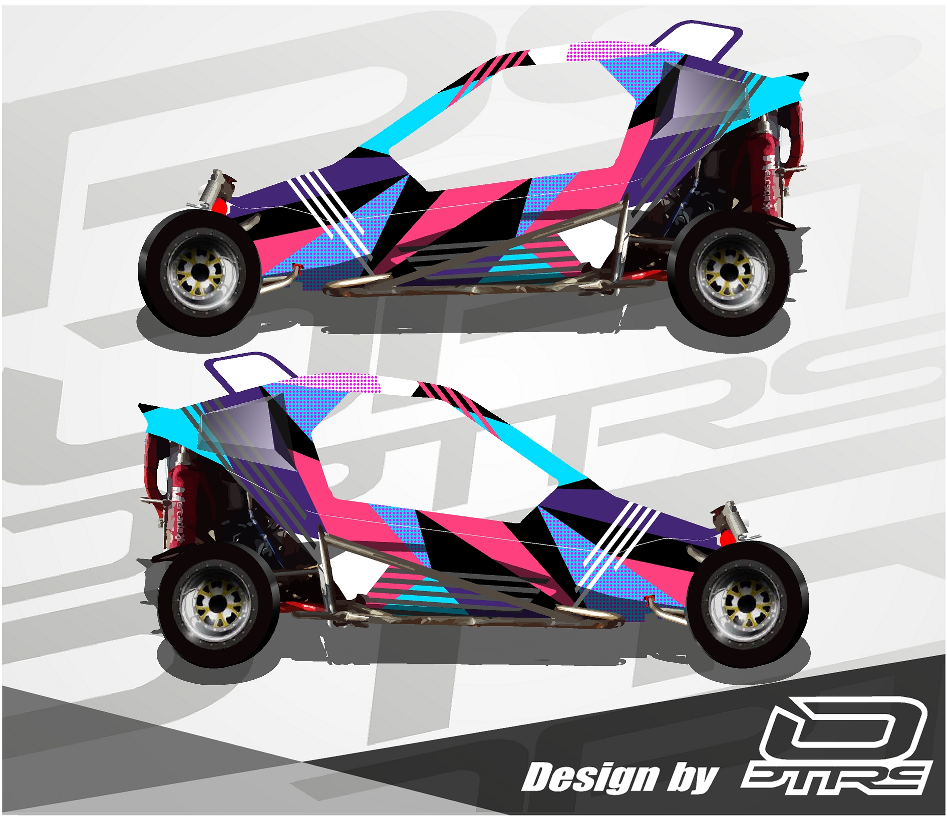 Carcross Full Design Purplepink