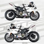 Ducati Panigale 1299 white