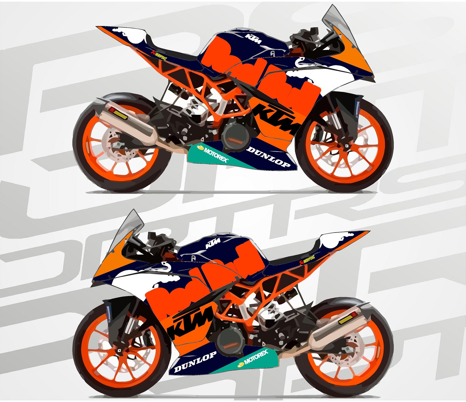 ktm rc390 supersport gp