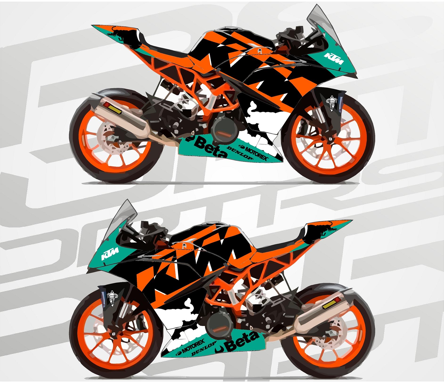ktm rc390 supersport Circuit