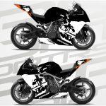 KTM RC8 Black