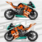 KTM RC8 Track
