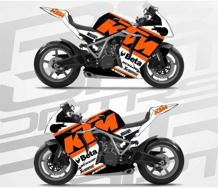 KTM RC8 Circuit