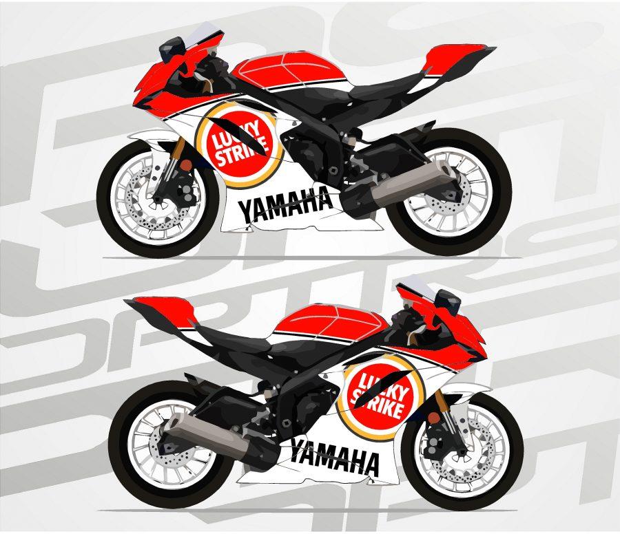 YAMAHA R6 RJ17 Lucky Strike
