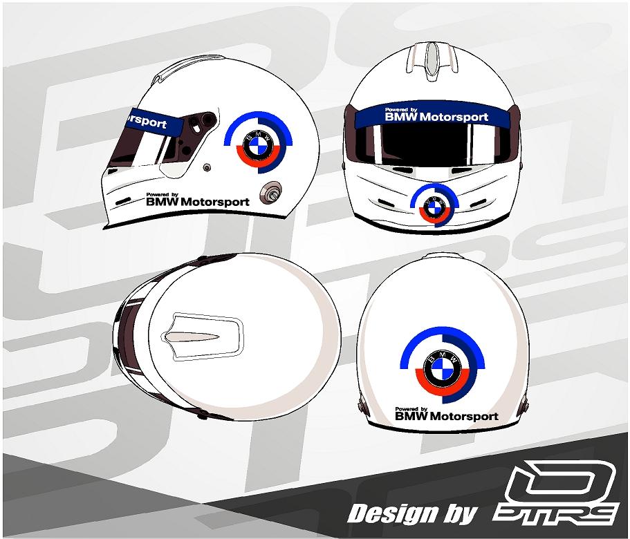 Adhesivos para casco Bmw Motorsport