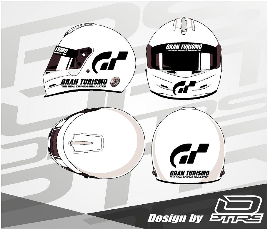 Adhesivos para casco Gran Turismo