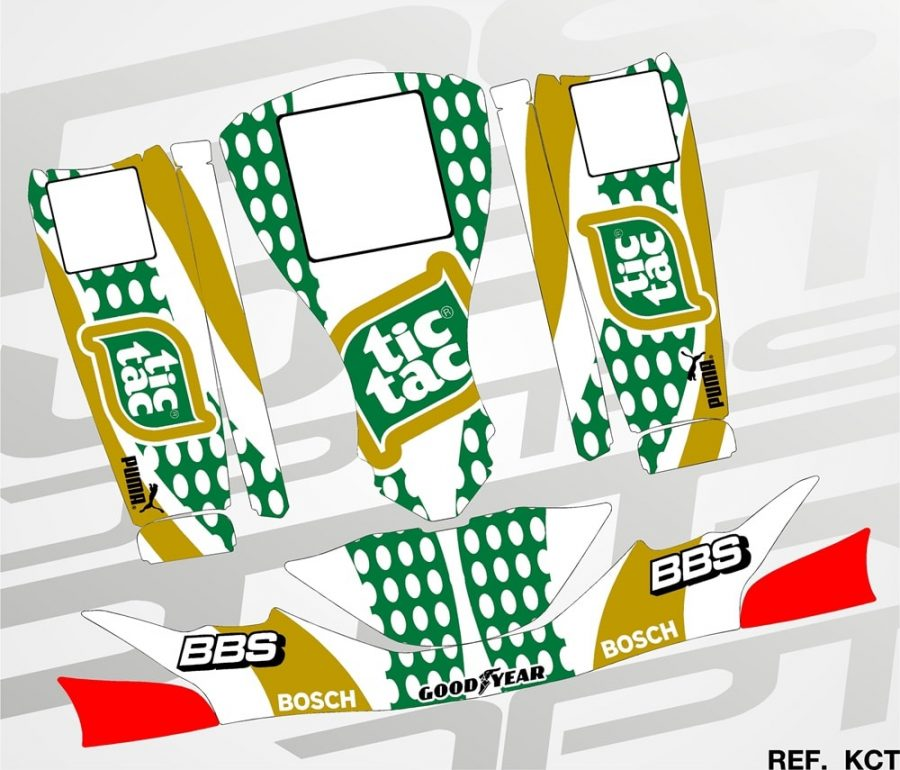 Kit Kart Tic tac