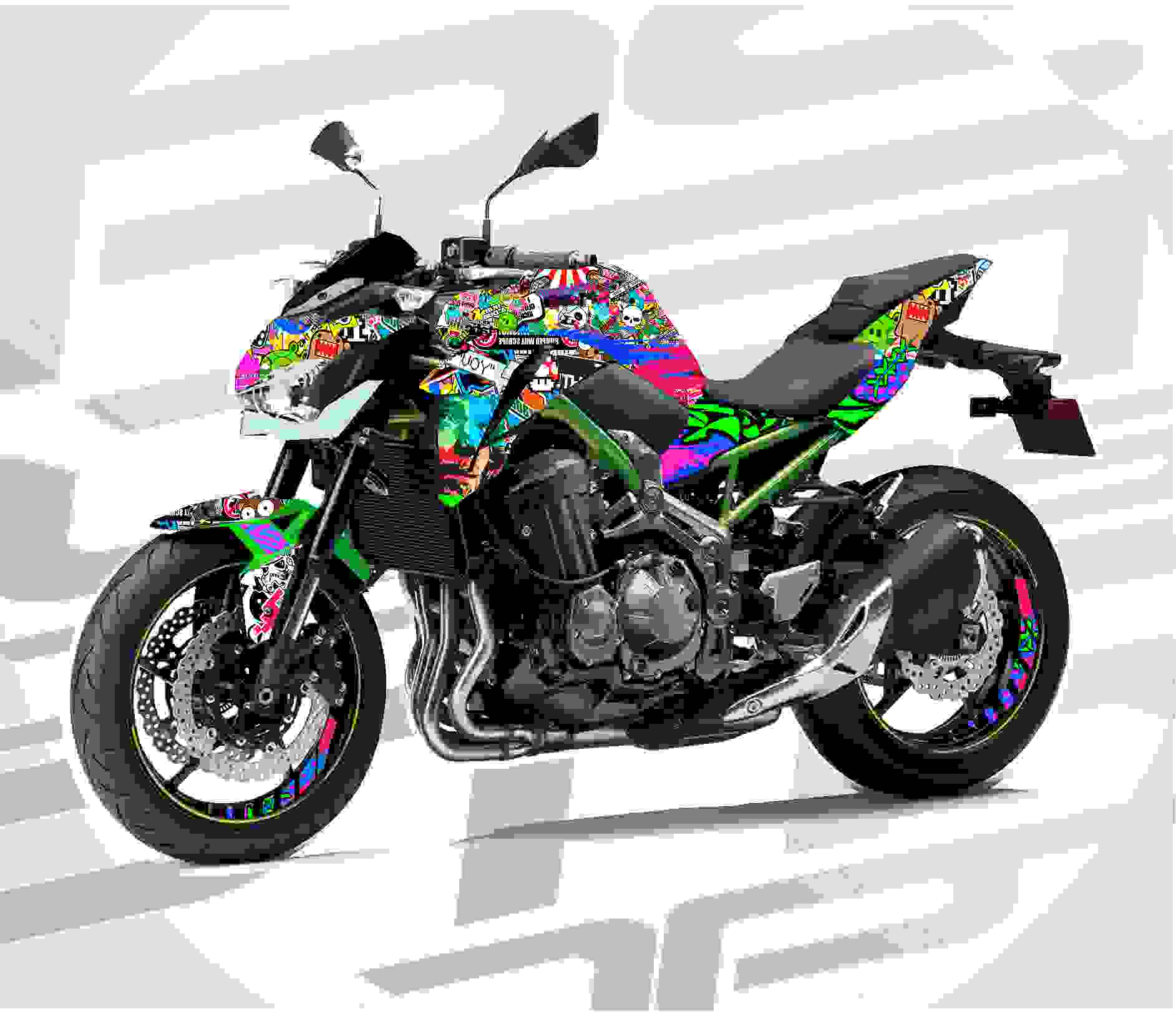 Kit moto personalizado