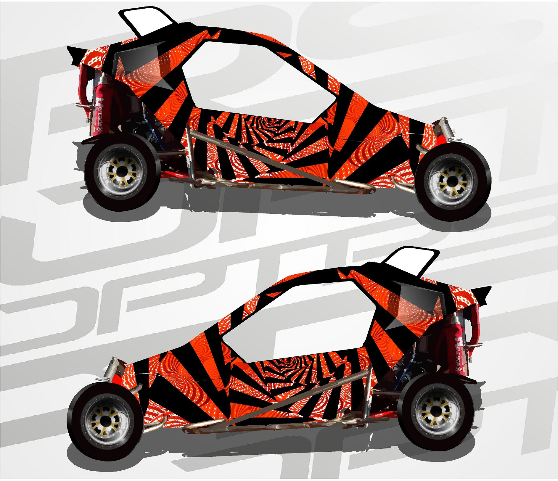 Carcross Full Design Black Rose
