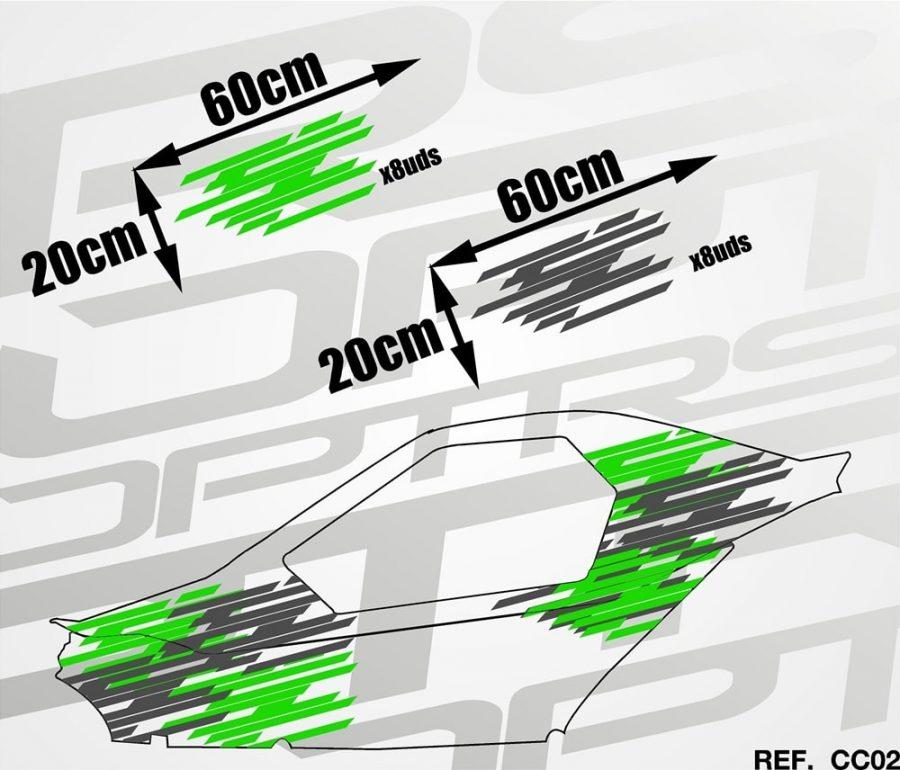 KIT Carcross Universal Wild Stripes
