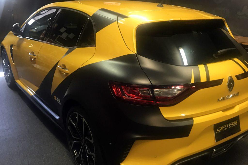Megane RS Amarillo