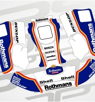 Kit Kart Rothmans